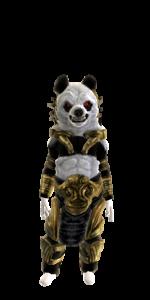 a IittIe panda