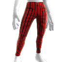 Striped Pegged Pants